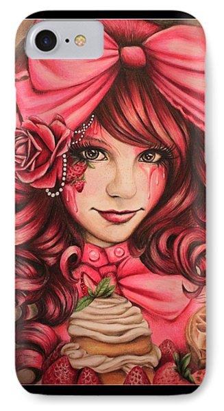 Strawberry IPhone Case by Sheena Pike