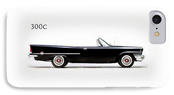 Car iPhone 7 Case - Chrysler 300c 1957 by Mark Rogan
