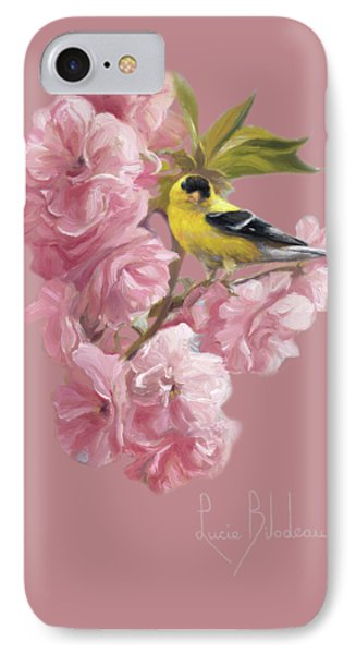 Finch iPhone 7 Case - Spring Blossoms by Lucie Bilodeau