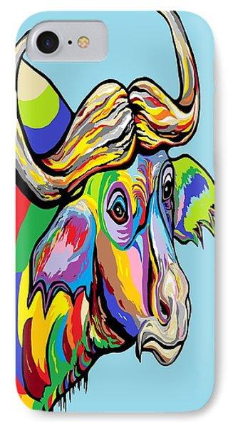 Buffalo Phone Case by Eloise Schneider