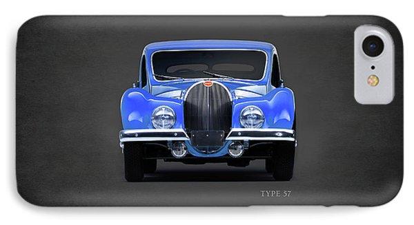 Bugatti Type 57 IPhone Case by Mark Rogan