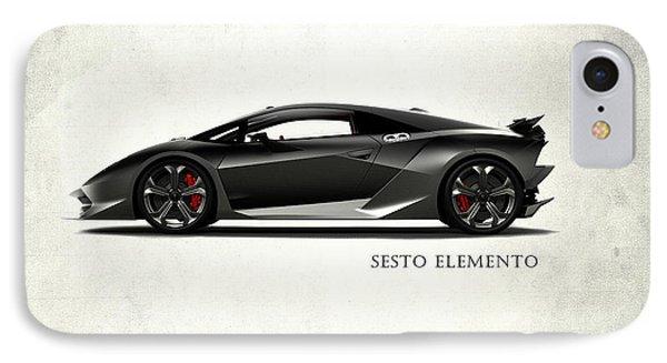 Lamborghini Sesto Elemento IPhone 7 Case