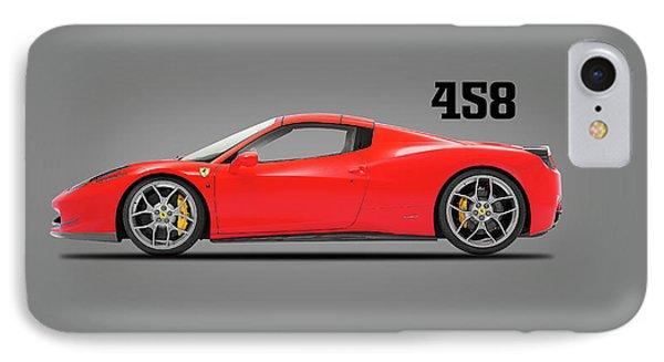 Ferrari 458 Italia IPhone 7 Case