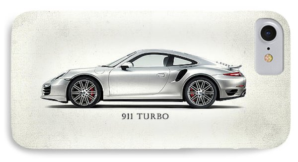 Porsche 911 Turbo IPhone Case by Mark Rogan