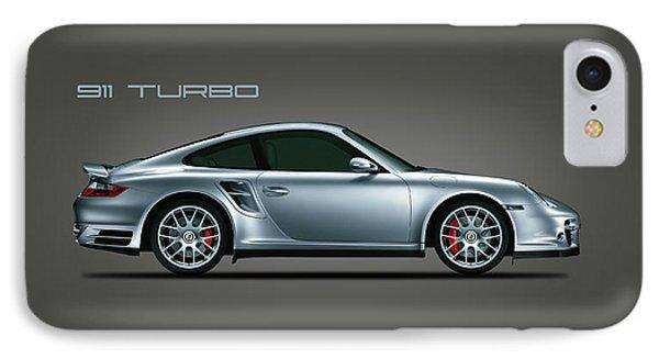 Car iPhone 7 Case - Porsche 911 Turbo by Mark Rogan