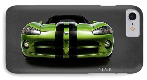 Dodge Viper IPhone 7 Case by Mark Rogan