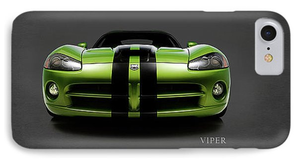 Dodge Viper IPhone Case by Mark Rogan