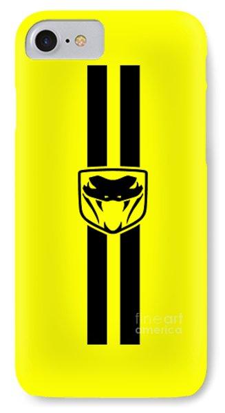 Dodge Viper Yellow Phone Case Phone Case by Mark Rogan