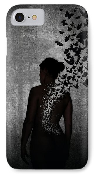 The Butterfly Transformation IPhone Case
