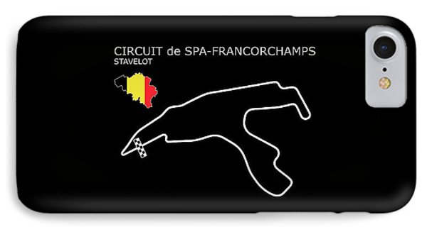 Spa Francorchamps IPhone Case