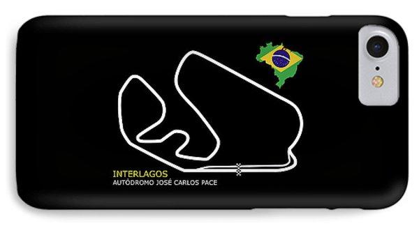 Interlagos Brazil IPhone Case
