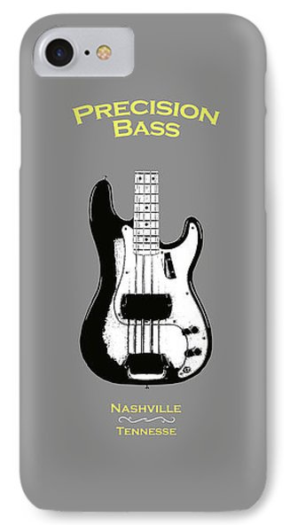 Fender Precision Bass 58 IPhone Case by Mark Rogan