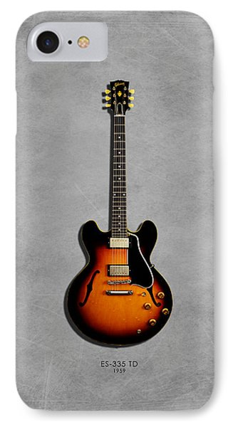 Gibson Es 335 1959 IPhone Case by Mark Rogan