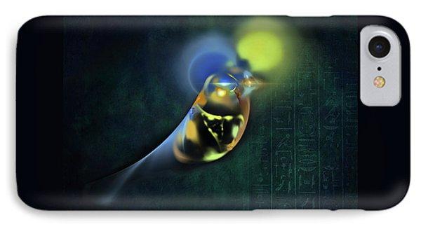 Horus Egyptian God Of The Sky IPhone Case by Menega Sabidussi