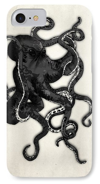 Beach iPhone 7 Case - Octopus by Nicklas Gustafsson