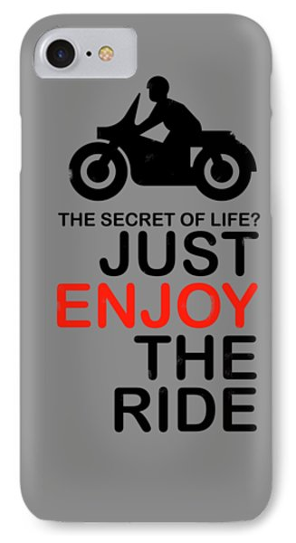 The Secret Of Life IPhone Case by Mark Rogan
