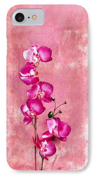 Orchid IPhone Case by Mark Rogan