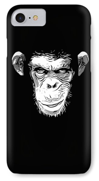 Evil Monkey IPhone 7 Case by Nicklas Gustafsson