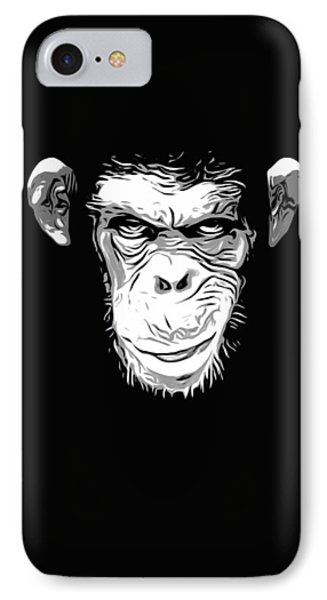 Evil Monkey IPhone Case by Nicklas Gustafsson