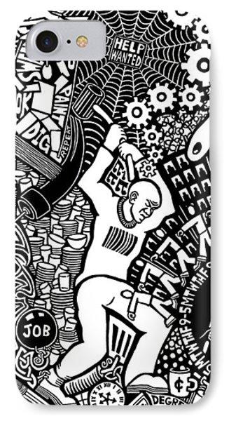 Labor Daze Phone Case by Matthew Ridgway