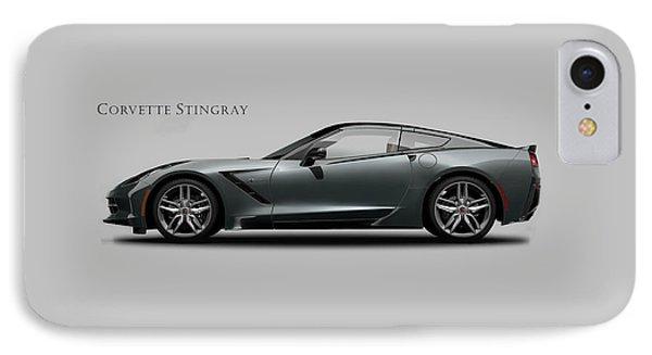 Corvette Stingray Coupe IPhone Case by Mark Rogan