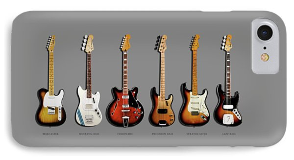 Fender Guitar Collection IPhone 7 Case by Mark Rogan