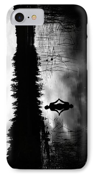 Reflecting Beauty V2 IPhone Case by Nicklas Gustafsson