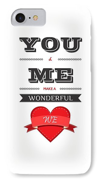 Love Lyrics Quotes Typography Quotes Poster IPhone Case by Lab No 4 - The Quotography Department