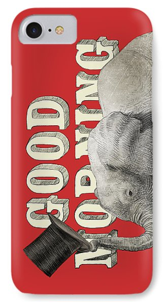 Good Morning IPhone Case by Eric Fan