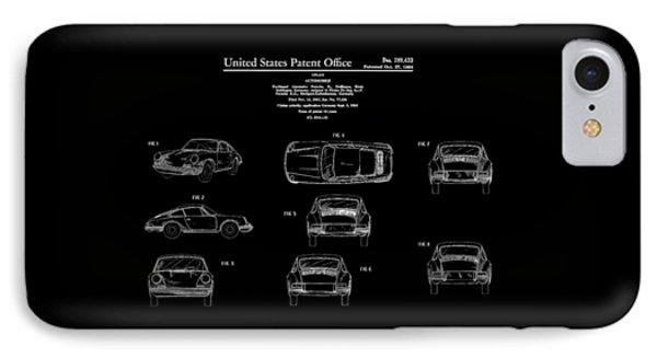 Porsche 911 Patent IPhone 7 Case