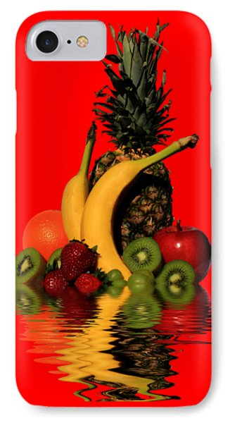 Fruity Reflections - Light IPhone Case by Shane Bechler