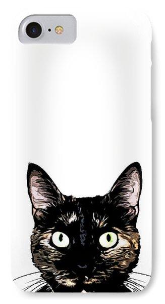Peeking Cat IPhone 7 Case