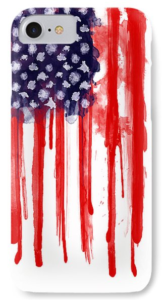American Spatter Flag IPhone 7 Case