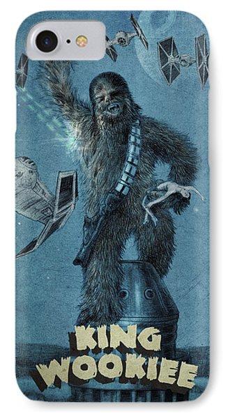King Wookiee IPhone 7 Case by Eric Fan