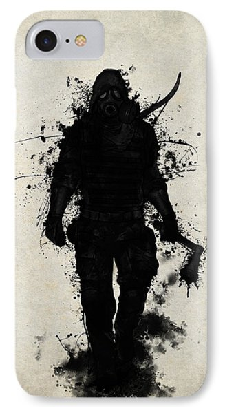 Apocalypse Hunter IPhone Case by Nicklas Gustafsson