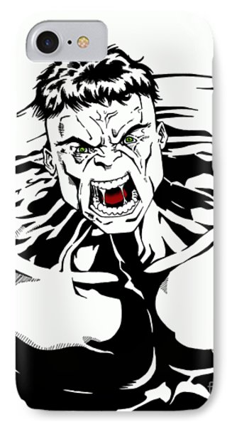 Rampaging IPhone Case by Mark Rogan