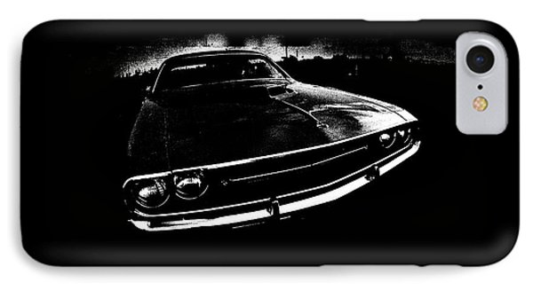 Challenger IPhone Case by Mark Rogan
