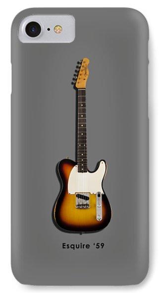 Fender Esquire 59 IPhone Case by Mark Rogan