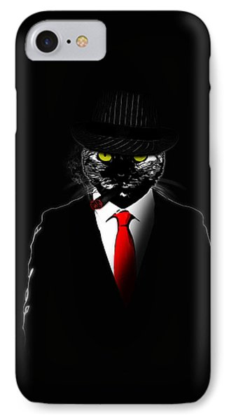 Mobster Cat IPhone Case