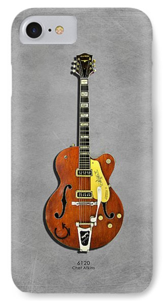 Gretsch 6120 1956 IPhone 7 Case by Mark Rogan