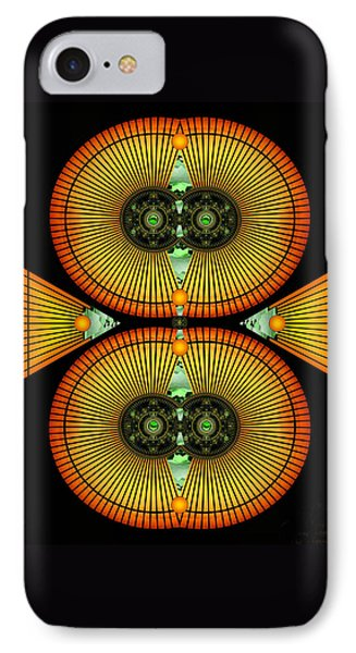 Cosmic Mitosis IPhone Case by Ellen Henneke
