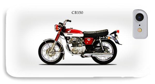 Honda Cb350 1970 IPhone Case by Mark Rogan