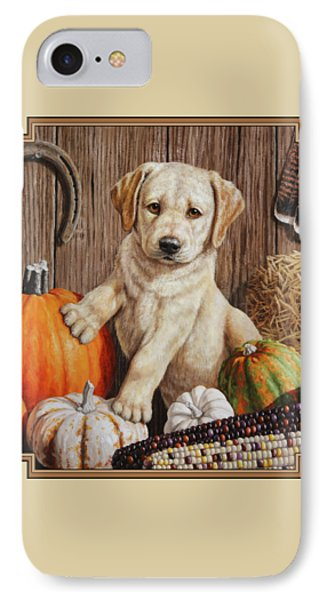 Pumpkin Puppy IPhone Case