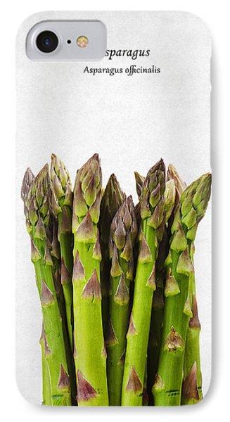 Asparagus IPhone 7 Case by Mark Rogan