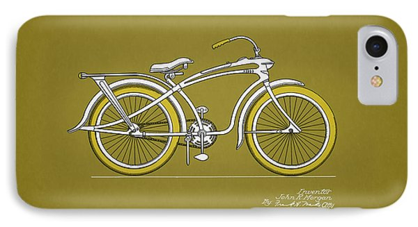 Bicycle 1937 IPhone 7 Case by Mark Rogan