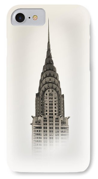 Chrysler Building iPhone 7 Case - Chrysler Building - Nyc by Nicklas Gustafsson