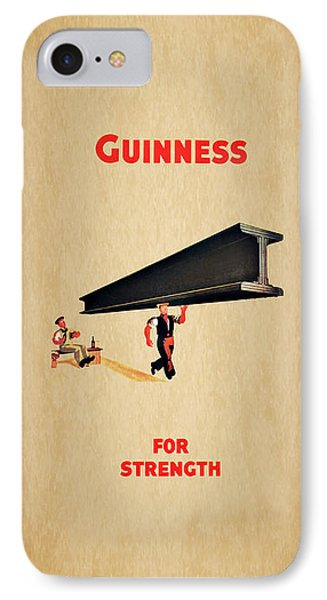 Guiness For Strength IPhone Case by Mark Rogan
