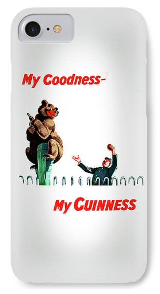 My Goodness My Guinness 2 IPhone Case by Mark Rogan