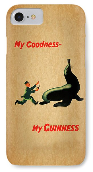My Goodness My Guinness 1 IPhone Case by Mark Rogan