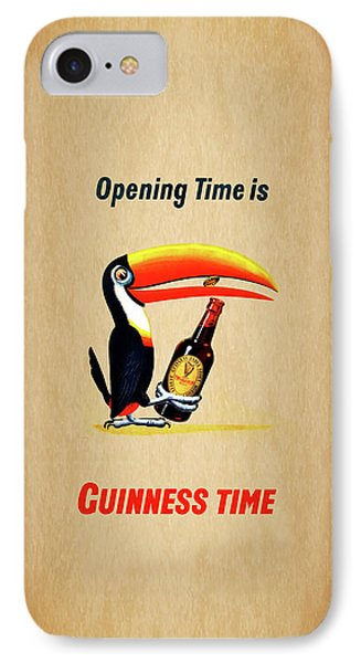 Opening Time Is Guinness Time IPhone 7 Case by Mark Rogan